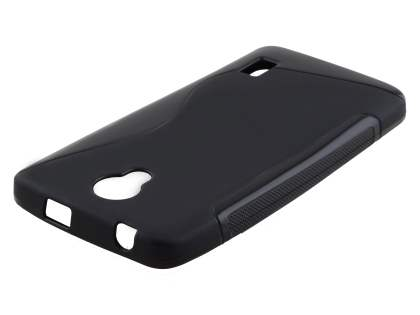 Huawei Y635 Wave Case - Frosted Black/Black