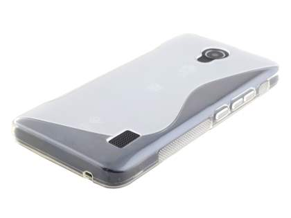 Wave Case for Huawei Y635 - Frosted Clear/Clear