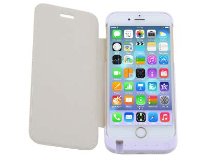 4200mAh Power Case Battery for iPhone SE/5s/5 - Pearl White