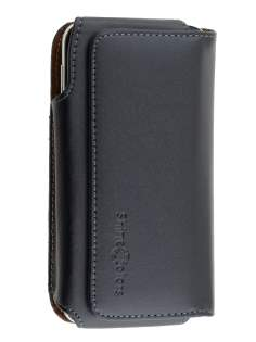 Extra-tough Genuine Leather ShineColours belt pouch for BlackBerry Z30 - Belt Pouch