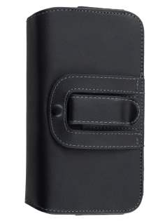 Extra-tough Genuine Leather ShineColours belt pouch (Bumper Case Compatible) for Huawei Ascend Y600