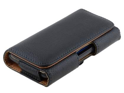 Textured Synthetic Leather Belt Pouch for LG Nexus 4