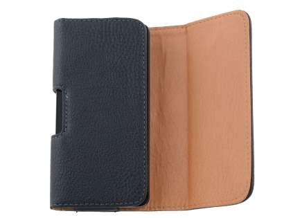 Textured Synthetic Leather Belt Pouch for Motorola Moto X