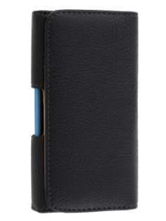 Textured Synthetic Leather Belt Pouch (Bumper Case Compatible) for Huawei Ascend P2