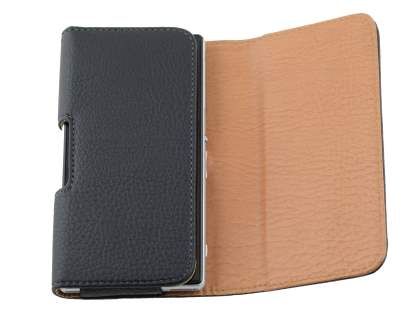 Textured Synthetic Leather Belt Pouch for Nokia Lumia 640