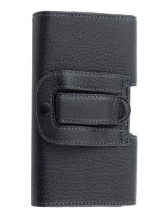Textured Synthetic Leather Belt Pouch for Samsung Galaxy S5