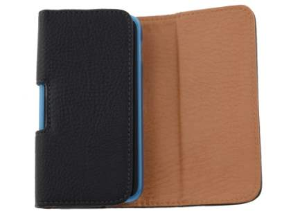 Textured Synthetic Leather Belt Pouch (Bumper Case Compatible) for Nokia Lumia 830