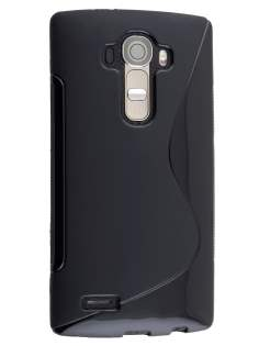 Wave Case for LG G4 - Frosted Black/Black Soft Cover