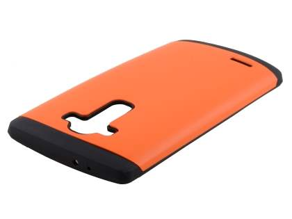 LG G4 Impact Case - Orange/Black