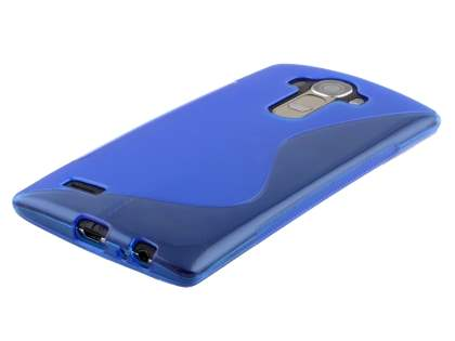 LG G4 Wave Case - Frosted Blue/Blue