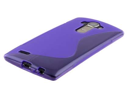 LG G4 Wave Case - Frosted Purple/Purple