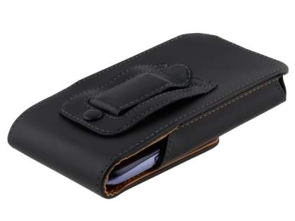 Smooth Synthetic Leather Vertical Belt Pouch for ZTE Telstra 4GX Buzz