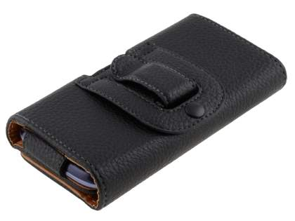 Textured Synthetic Leather Belt Pouch for ZTE Telstra 4GX Buzz