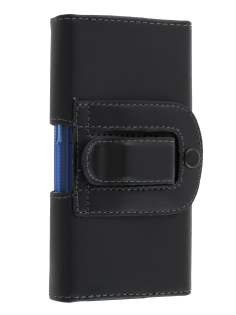 Smooth Synthetic Leather Belt Pouch (Bumper Case Compatible) for Samsung Galaxy Trend Plus S7580