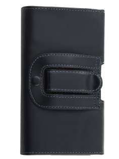 Smooth Synthetic Leather Belt Pouch for LG G3 (Bumper Case Compatible)
