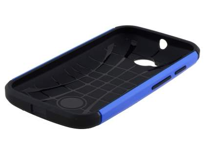 Motorola Moto E 2nd Gen Impact Case - Blue/Black