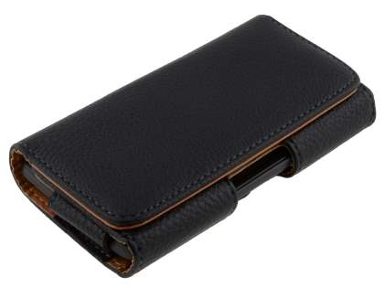 Textured Synthetic Leather Belt Pouch for Sony Xperia M4 Aqua