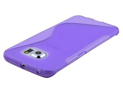 Wave Case for Samsung Galaxy S6 Edge Plus - Frosted Purple/Purple