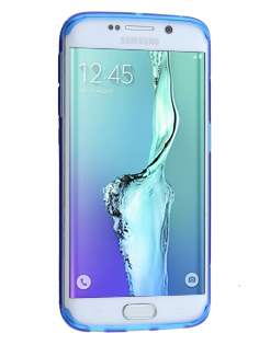 Samsung Galaxy S6 Edge Plus Wave Case - Frosted Blue/Blue