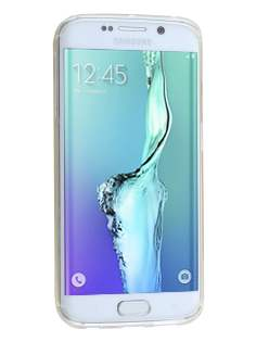 Samsung Galaxy S6 Edge Plus Wave Case - Frosted Clear/Clear