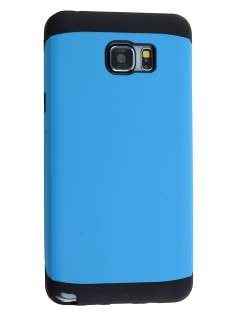 Samsung Galaxy Note 5 Impact Case - Sky Blue/Black