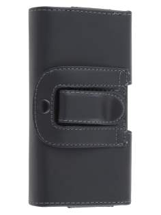 Smooth Synthetic Leather Belt Pouch for BlackBerry Q20