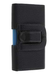 Textured Synthetic Leather Belt Pouch (Bumper Case Compatible) for Telstra T96