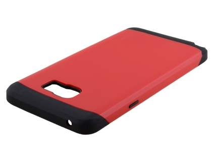 Samsung Galaxy Note 5 Impact Case - Red/Black