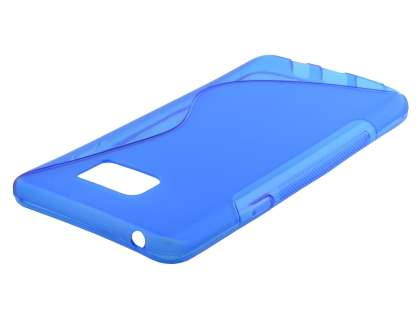 Wave Case for Samsung Galaxy Note 5 - Frosted Blue/Blue