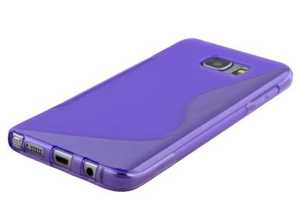 Samsung Galaxy Note 5 Wave Case - Frosted Purple/Purple