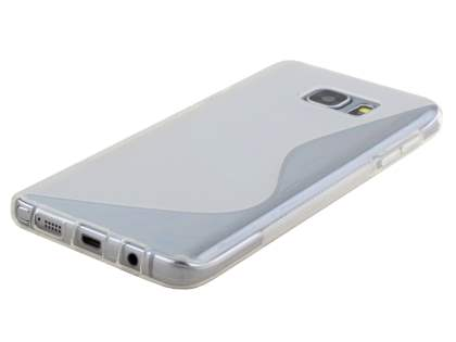 Samsung Galaxy Note 5 Wave Case - Frosted Clear/Clear