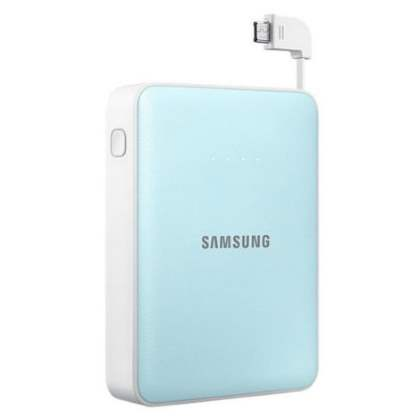 Genuine Samsung EB-PG850B 8400 mAh External Battery Pack  - Sky Blue