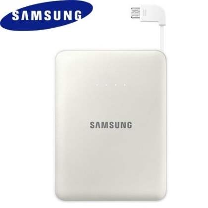 Genuine Samsung EB-PG850B 8400 mAh External Battery Pack  - Pearl White Power Bank