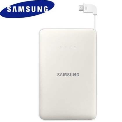 Genuine Samsung EB-PN915B 11,300 mAh External Battery Pack  - Pearl White Power Bank