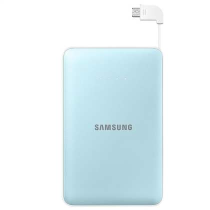 Genuine Samsung EB-PN915B 11,300 mAh External Battery Pack  - Sky Blue Power Bank