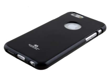 Mercury Glossy Gel Case for iPhone 6s/6 4.7 inches - Classic Black