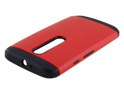 Impact Case for Motorola Moto G 3rd Gen - Red/Black Impact Case