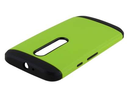 Impact Case for Motorola Moto G 3rd Gen - Green/Black Impact Case