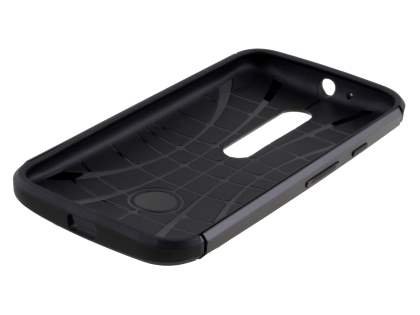 Impact Case for Motorola Moto G 3rd Gen - Charcoal/Black