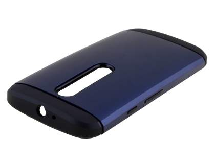 Impact Case for Motorola Moto G 3rd Gen - Midnight Blue/Black Impact Case