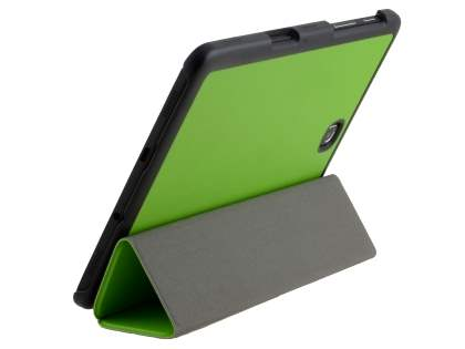 Premium Slim Synthetic Leather Flip Case with Stand for Samsung Galaxy Tab S2 8.0 - Green