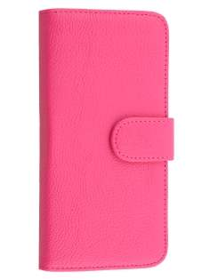 Synthetic Leather Wallet Case with Stand for HTC Desire 626/628 - Pink