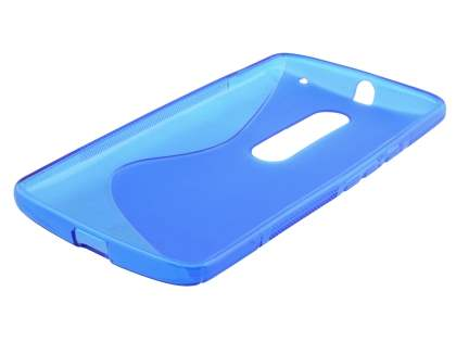 Wave Case for Motorola Moto X Play - Frosted Blue/Blue