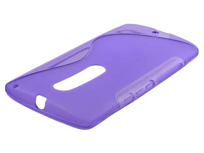 Wave Case for Motorola Moto X Play - Frosted Purple/Purple Soft Cover