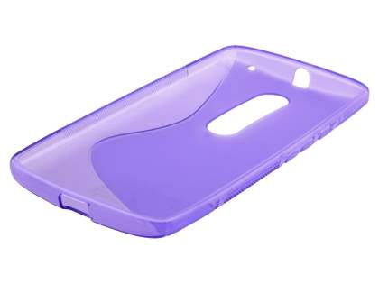 Wave Case for Motorola Moto X Play - Frosted Purple/Purple