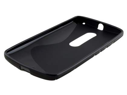 Wave Case for Motorola Moto X Play - Frosted Black/Black