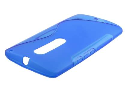 Wave Case for Motorola Moto X Style - Frosted Blue/Blue Soft Cover
