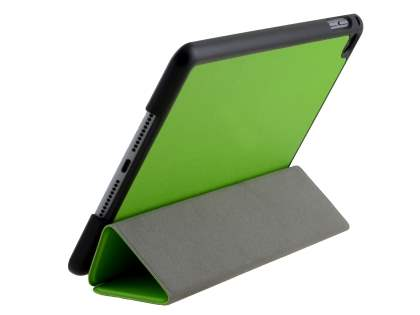 Premium Slim Synthetic Leather Flip Case with Stand for iPad mini 4 - Green