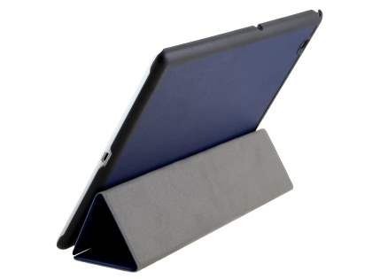 Premium Slim Synthetic Leather Flip Case with Stand for Sony Xperia Z4 Tablet - Blue Leather Flip Case