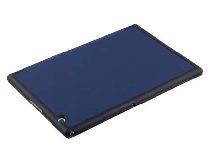Premium Slim Synthetic Leather Flip Case with Stand for Sony Xperia Z4 Tablet - Blue